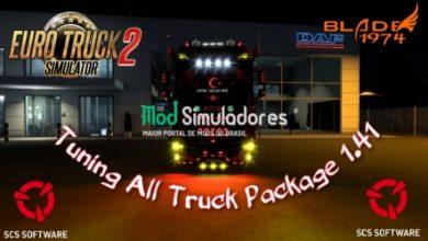 Pack Modificações para caminhões v1.1 (1.41) ETS2