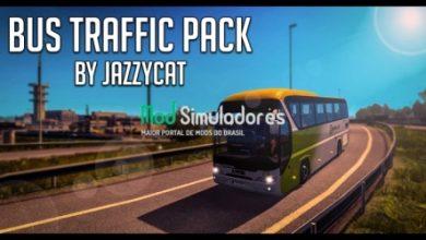 Pack Tráfego de ônibus v11.9 (1.40.X) ETS2