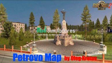 Petrovo Map (Rus region) v3.0 (1.40) ETS2