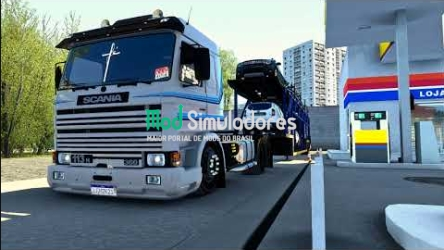 Caminhão Scania 113H Frontal v1.2 (1.42) ETS2