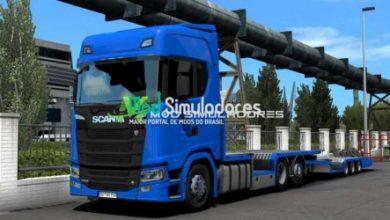 Scania FGV Tandem Para 1.40.X - ETS2