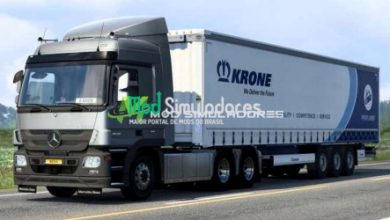 Som Motor V6 MB Actros MP2/MP3 Para 1.40.X - ETS2