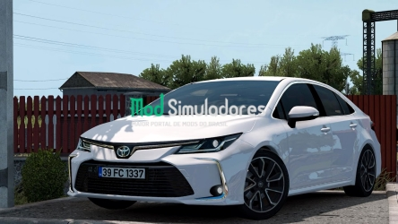 Toyota Corolla 2020 e Interior v1.7 (1.41) ETS2