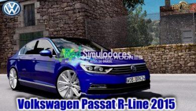 VW Passat R-Line 2015 V1.6 Para 1.40.X - ETS2